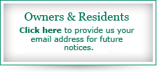 Email Address for Reconstruction Notices
